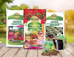 Podłoża specjalistyczne do uprawy roślin doniczkowych.