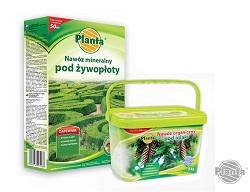 Nawozy całosezonowe mają zbilansowany skład podstawowych składników, można je stosować zazwyczaj do marca do września.