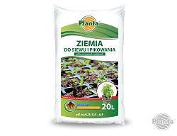 Do produkcji rozsad najlepiej wykorzystać Ziemię do siewu i pikowania roślin.
