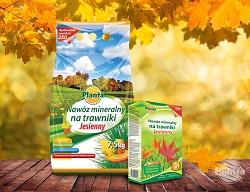 Późnym latem i jesienią stosujemy specjalnie skomponowane nawozy jesienne.
