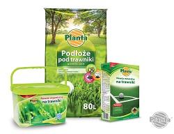Podłoże pod trawniki oraz specjalistyczne nawozy gwarantują piękną murawę.